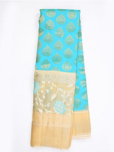 MKB9033740-Vivaha Exclusive Wedding Pure Silk Saree