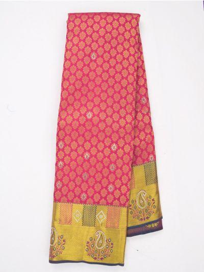 MJA6852266-Vivaha Wedding Stonework Silk Saree