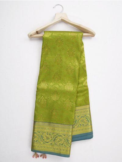 MKD0219078-Bairavi Gift Stonework Silk Saree