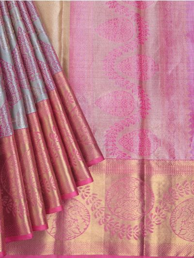 Vivaha Goddess Handloom Pure Kanchipuram Silk Saree - LFD6268784