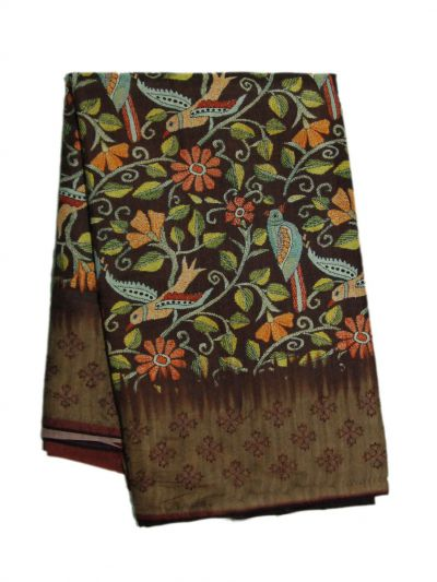 MFB6201011 - Fancy Jute Printed Saree