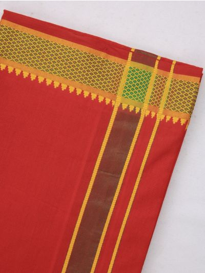 KKV Cotton Devotional Dhoti With Towel - MHA1322434