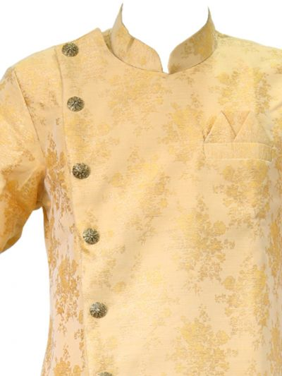 MKB9099673 - Exclusive Silk Jacquard Indo Western Suit