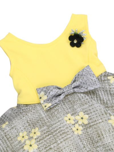 Infant Girls Printed Design Synthetic Fancy Frock - MJA7045792 Size-12(0 to 6 months)