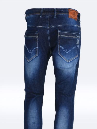 Zulus Festin Men's Denim Trousers-MHA1209325