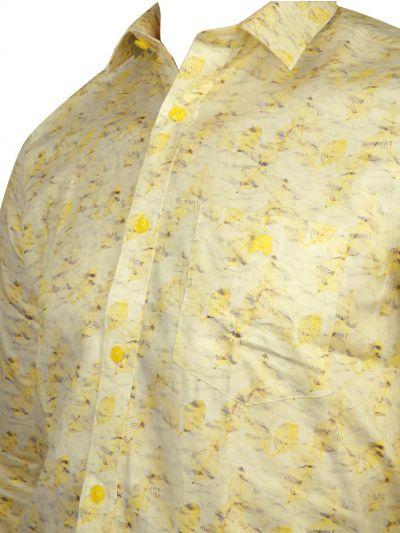 ZF Men's Readymade Casual Cotton Shirt - MLA0423508