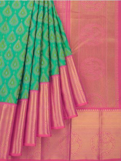 MID5212512-Vivaha Wedding Pure Kanchipuram Silk Saree