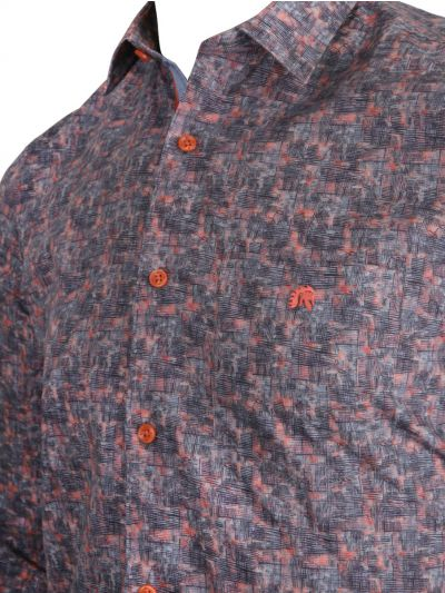 ZF Men's Readymade Casual Cotton Shirt - MKB9169396