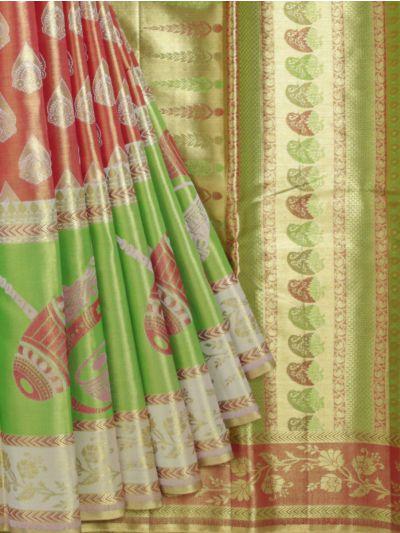 Vivaha Goddess Pure Silk Saree