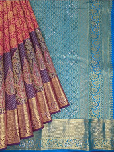 MHD2627908 - Traditional Stone work Silk Saree