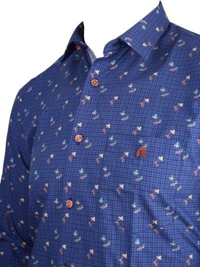 ZF Men's Readymade Casual Cotton Shirt - MKB9169366