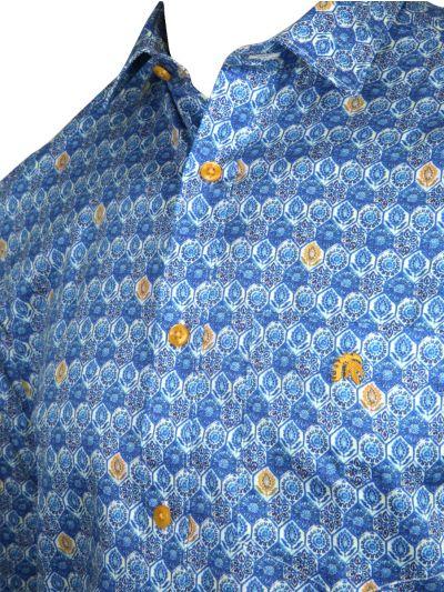 ZF Men's Readymade Casual Cotton Shirt - MLA0423497
