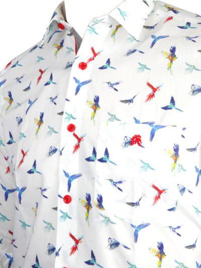 ZF Men's Readymade Casual Cotton Shirt - MKD0275954