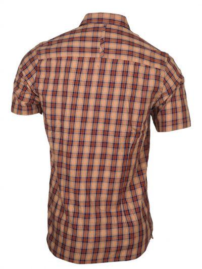 ZF Men's Cotton Casual Half Sleeve Shirt - MGA8046752