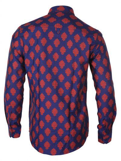 ZF  Men's Party Wear Cotton Shirt - MGA8028503