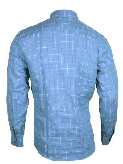 Zulus Festin Men's Readymade Formal Linen Shirt - MGC0296249