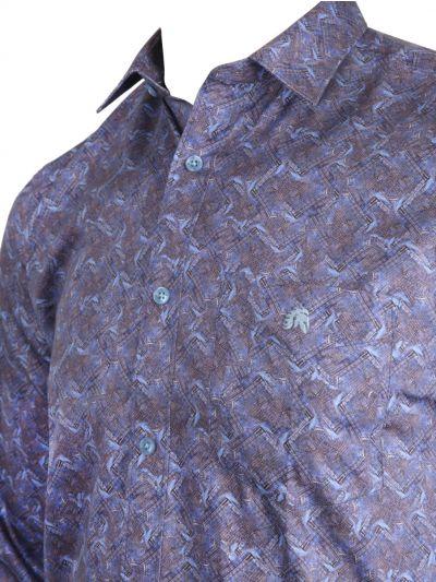 ZF Men's Readymade Casual Cotton Shirt-MLA0423443