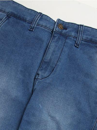 ZSF Men's Casual Denim Trouser - NFB3922763