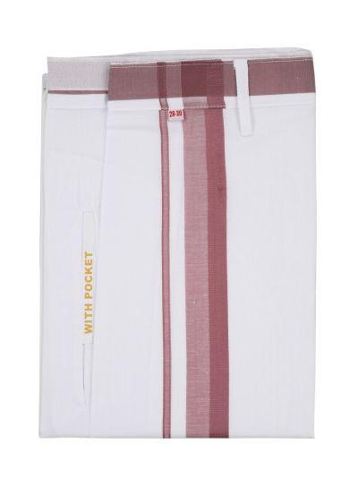 KKV Velcro Men Cotton Dhoti - NGD2813276