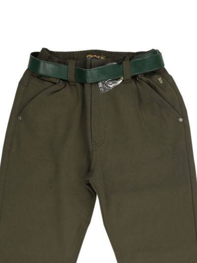 Boys Casual Cotton Trouser - NGB0696150