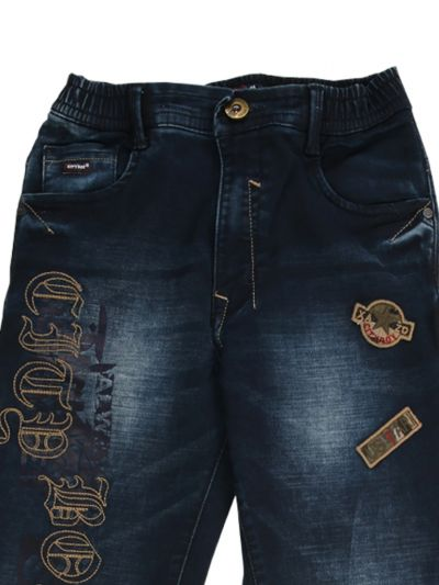 Boys Casual Denim Trouser - NKD4150204