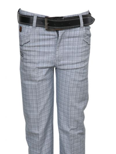 Boys Casual Cotton Trouser -NGB0549598