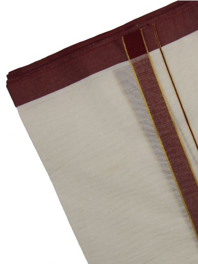 KKV Men's Cotton Dhoti - EKM - NJA9702622