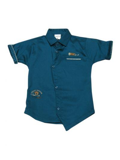 Boys Casual Shirt and Pant Set - MKA8745905