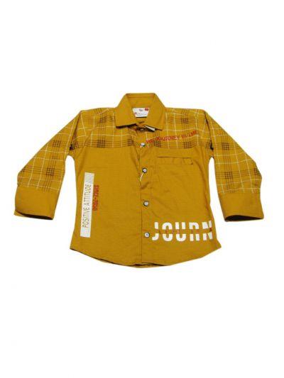 Boys Casual Shirt and Pant Set - MKD0376847