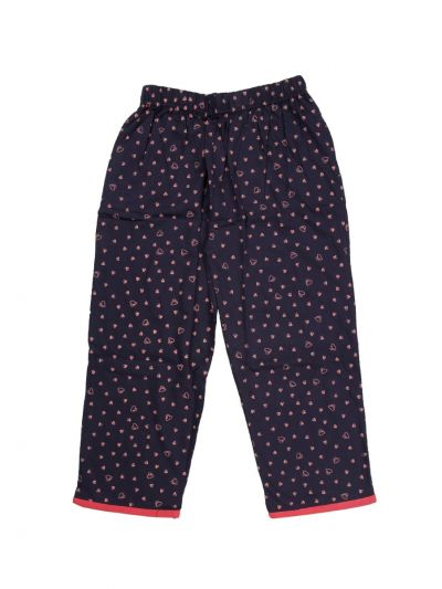 Women's Cotton 3/4 Printed Nightwear/Night Suit - ODB2646759