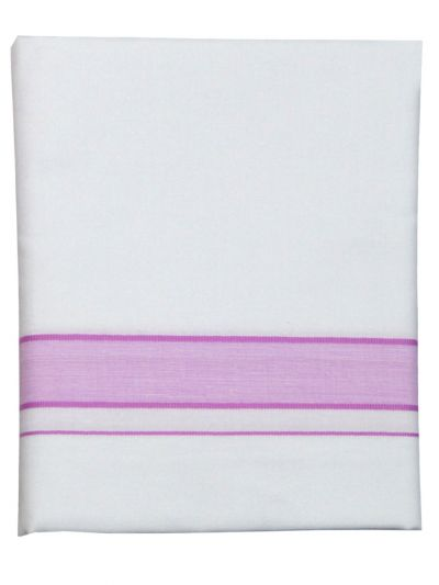 KKV Cotton Shirt and Fancy Border Dhoti Set - OFA7836293