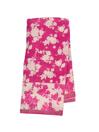 Fancy Pure Tussar Silk Printed Saree - OED6865788