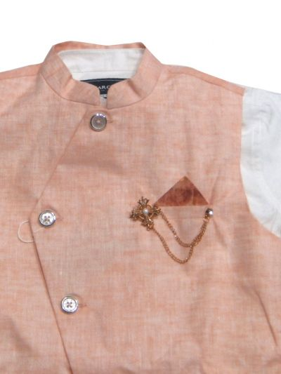 NED2771005 - Boy Shirt With Waistcoat Set