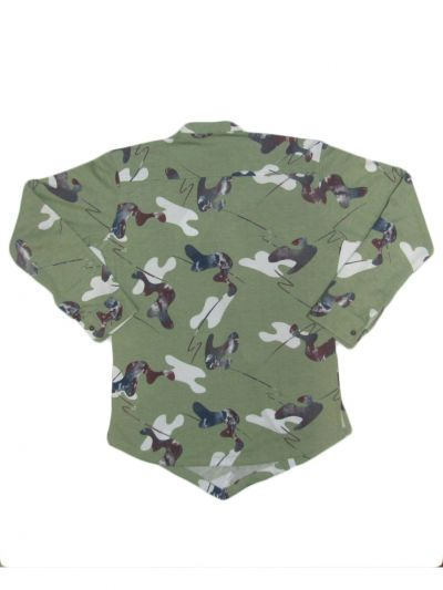EKM-NHA3620956 - Boys Casual Cross Button Shirt