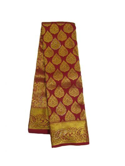 EKM-NHB4734176 - Traditional Stone Work Silk Saree