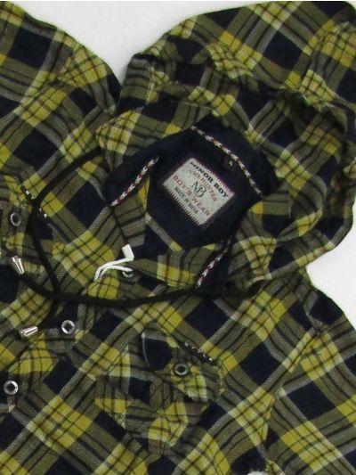 NFB3786070 - Boys Hooded Cotton Shirt