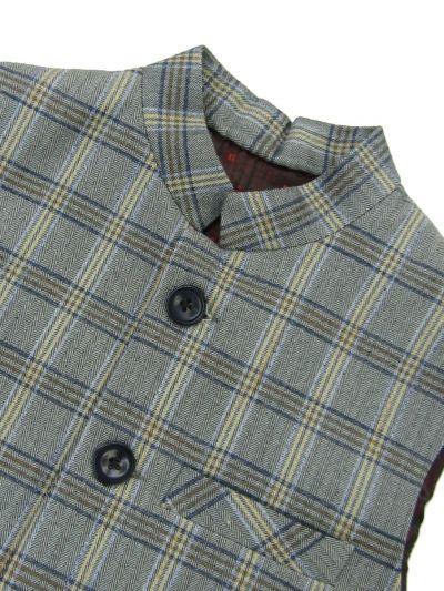 MFB2202322 - Exclusive Printed Men's Waist Coat