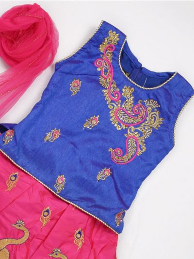 MJC7435354 - Girls Ready Made Fancy  Choli