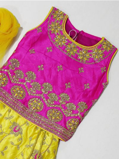MKC9837639 - Girls Ready Made Fancy  Choli