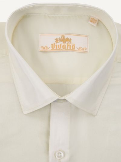 Vivaha Wedding Silk Shirt - MJA7034715
