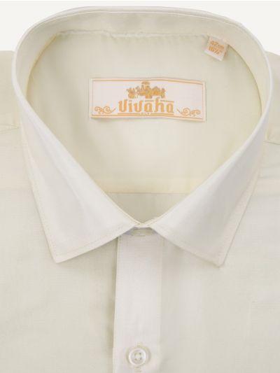 Vivaha Wedding Art Silk Shirt-MJA7034735
