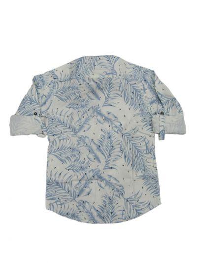 NFD5111175- Boys Casual Printed Cotton Shirt