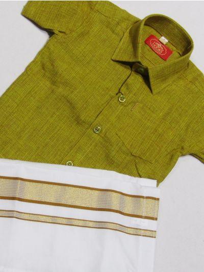 MR HOOKS Boys Dhoti Set -NEC2292962