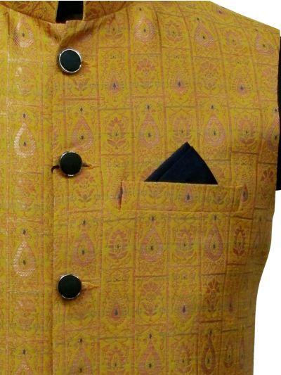 NFD5382523 - Exclusive Printed Men's Waist Coat