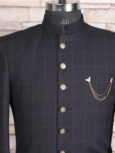 MFB2971127 - Exclusive Silk Jacquard Indo Western Suit