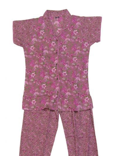 Women Cotton Nightwear/Night Suit - NKD4150995-EKM