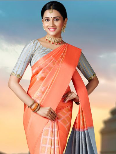 Vivaha Goddess Wedding Pure Kanchipuram Silk Saree