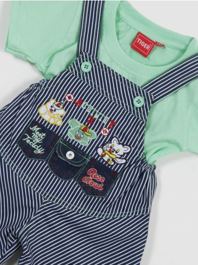 MKD0315761-Infant Boys Cotton Rompers (2 Year)
