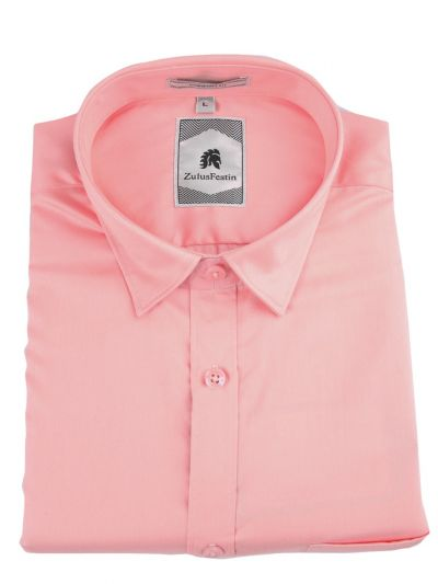 Zulus Festin Men's Formal Full Sleeve Satin Cotton Shirt - TUP-MED8324452