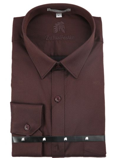 Zulus Festin Chairmen Collection Men's Formal Full Sleeve Cotton Shirt